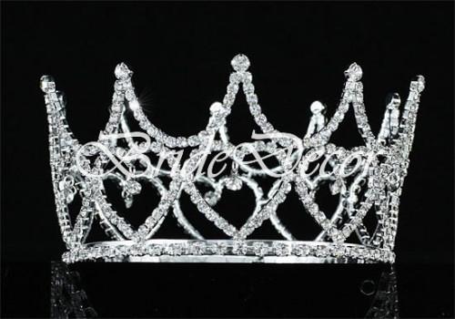 Свадебная корона  «Сердца влюбленных»