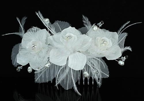 Свадебный гребень «Очарование»