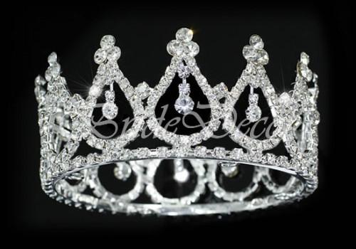 Диадема из страз «Корона принцессы»
