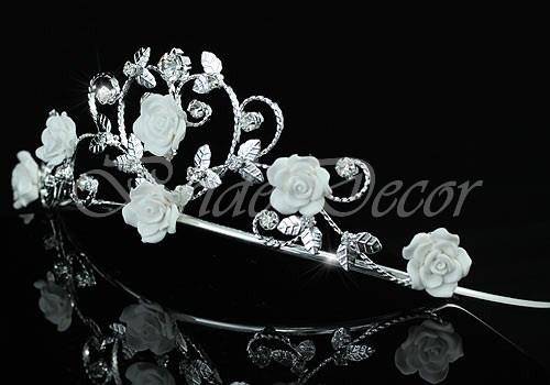 Диадема для прически «Нежность роз»
