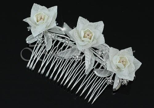 Гребень для свадьбы «Vanila style»