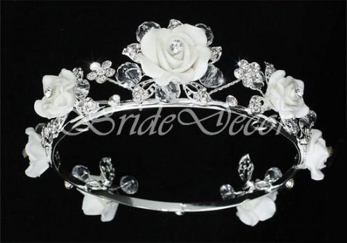Маленькая корона «Букет роз»