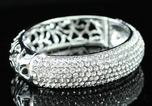 Жесткий браслет Сваровски «Лунные дары»