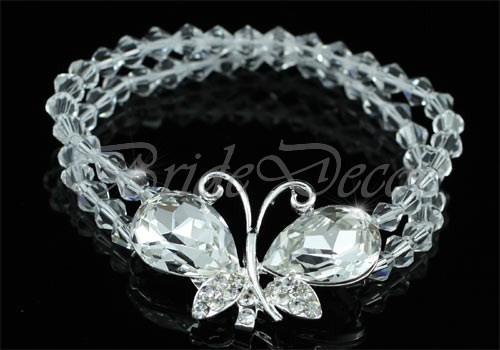 Женский браслет «Красота бабочки»