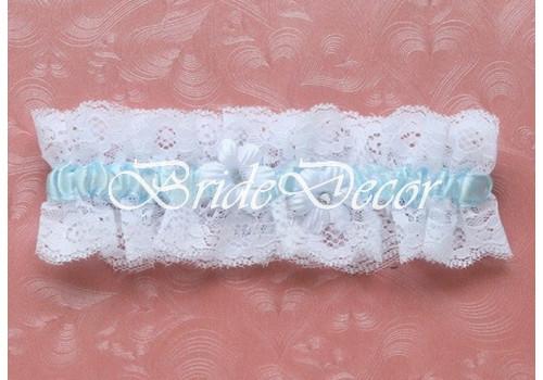 Свадебная подвязка для невесты «Нежная ромашка»